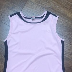 AVIA Pink and black tank LIKE NEW XL